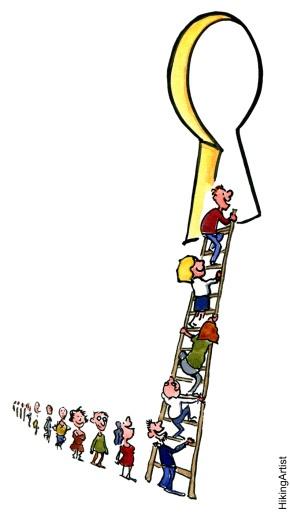 ladder-to-keyhole